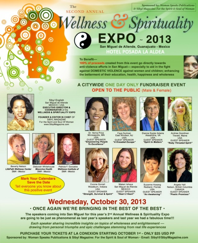 Brochure of Wellness & Spirituality Expo