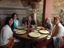 Angie Hall, Constance Mollerstuen, Connie Gorrell, Andrea Goodman, Diane Adams