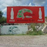 Entrance to La Gruta Hot springs In San Miguel de Allende