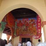 Mural at Entrance to Casa Organization