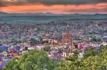 Overlooking the city of San Miguel de Allende