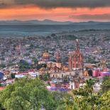 Overlooking the city of San Miguel de Allende